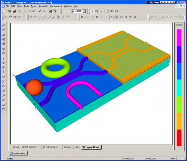 3D Layout Designer
