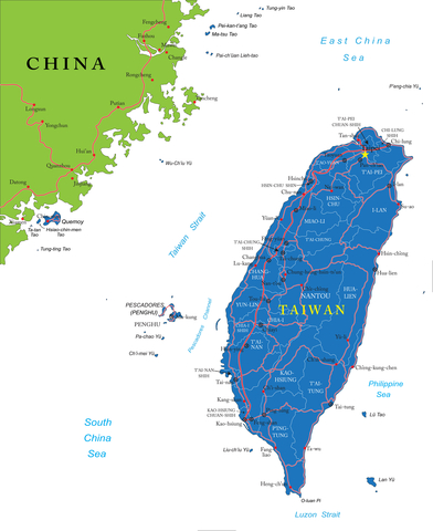 http://www.dreamstime.com/royalty-free-stock-images-taiwan-map-highly-detailed-vector-administrative-regions-main-cities-roads-image31362569