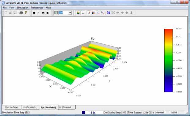 FDTD - 3D Wave propagation