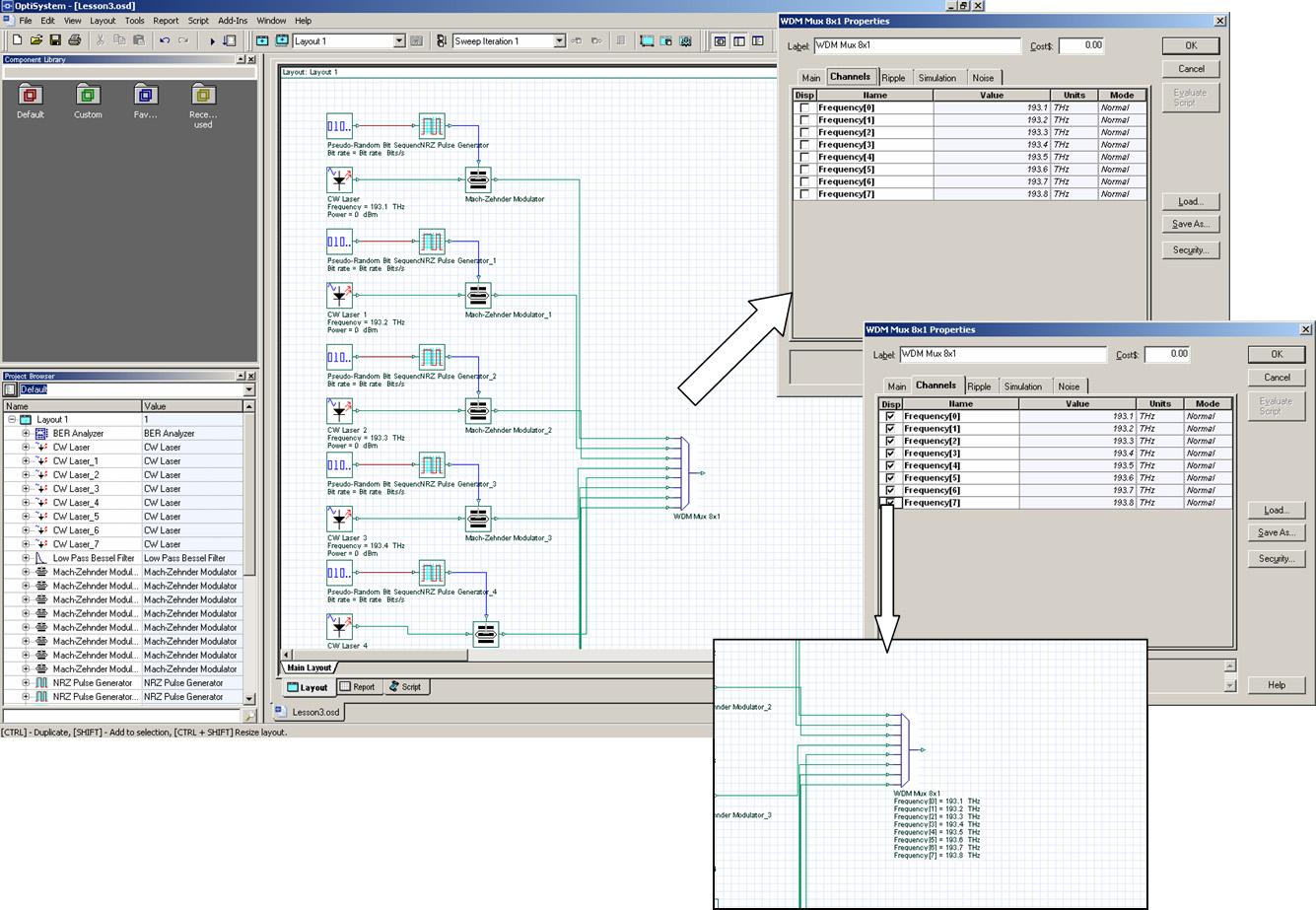 Lesson 3: Optical Systems — WDM Design