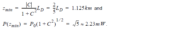 Optical System - Equation