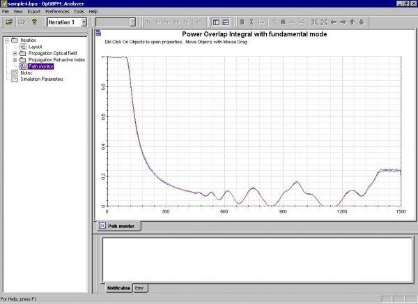 BPM - Figure 23 Simulation results — Path Monitor view (four paths)