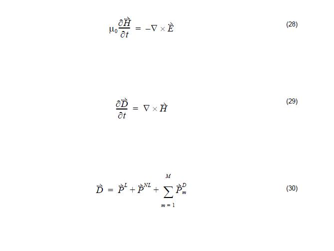 FDTD - equations 28 -30