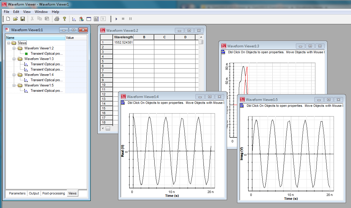 New Version Optispice 40 Sept 2013 Capture And Simulation Of Electrical Circuits The Actual Spice Post Processing