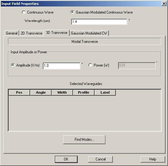 FDTD - Figure 23 3D Transverse tab