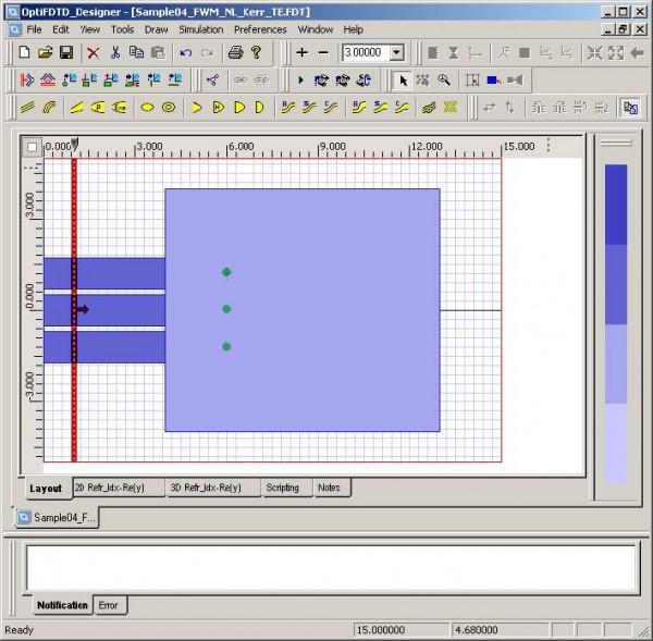 FDTD - Figure 20 Input waveguides