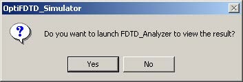 FDTD - Figure 23 Message box