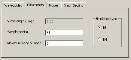 FDTD - Figure 76 Parameters tab