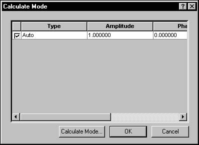 BPM - Figure 13 Calculate Mode dialog box