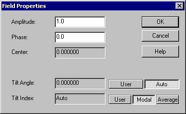 BPM - Figure 19 Field Properties dialog box