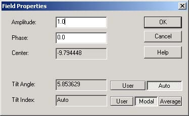 BPM - Figure 15 Field Properties dialog box
