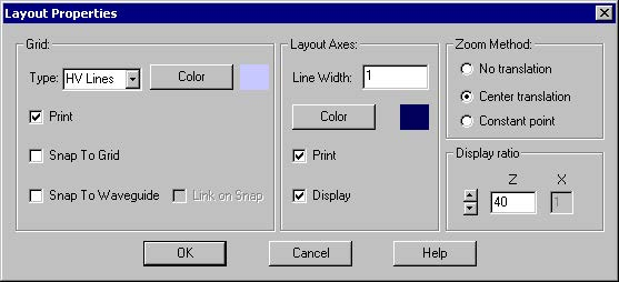 BPM - Figure 4 Layout Options dialog box