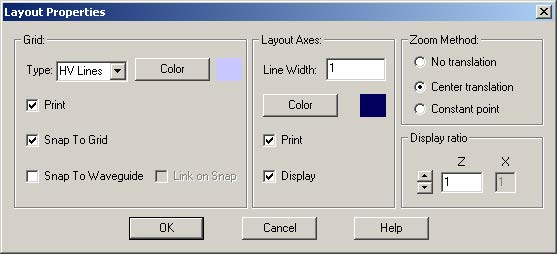 BPM - Figure 7 Layout Properties dialog box
