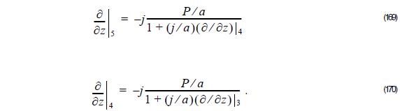 Optical BPM - Equation 169 - 170