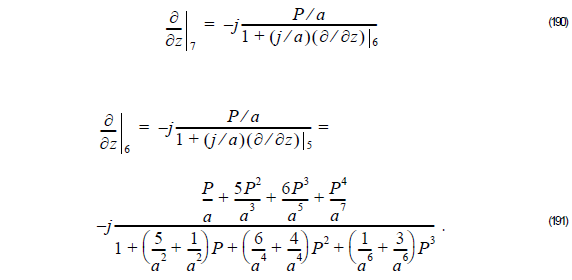 Optical BPM - Equation 190 - 191