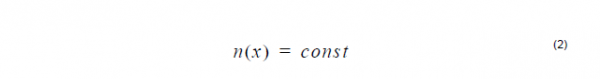 Optical Fiber - Constant profile equation