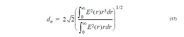 Optical Fiber - equation 17