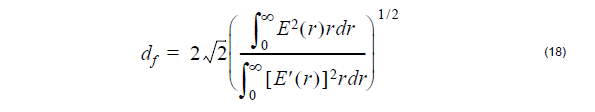 Optical Fiber - equation 18